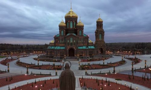 Patriarch Kiril will bless the main temple of the Armed Forces of Russia on June 14