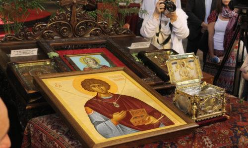 Посрещане на Главата на Св. Панталеймон